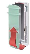 Koupelnový skleněný sálavý panel Campaver Bains