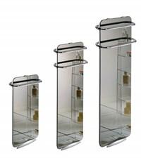 Koupelnový skleněný sálavý panel Campaver Bains - velikosti