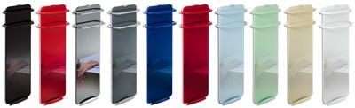 Koupelnový skleněný sálavý panel Campaver Bains - barvy